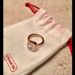 Rose Gold Coach Ring